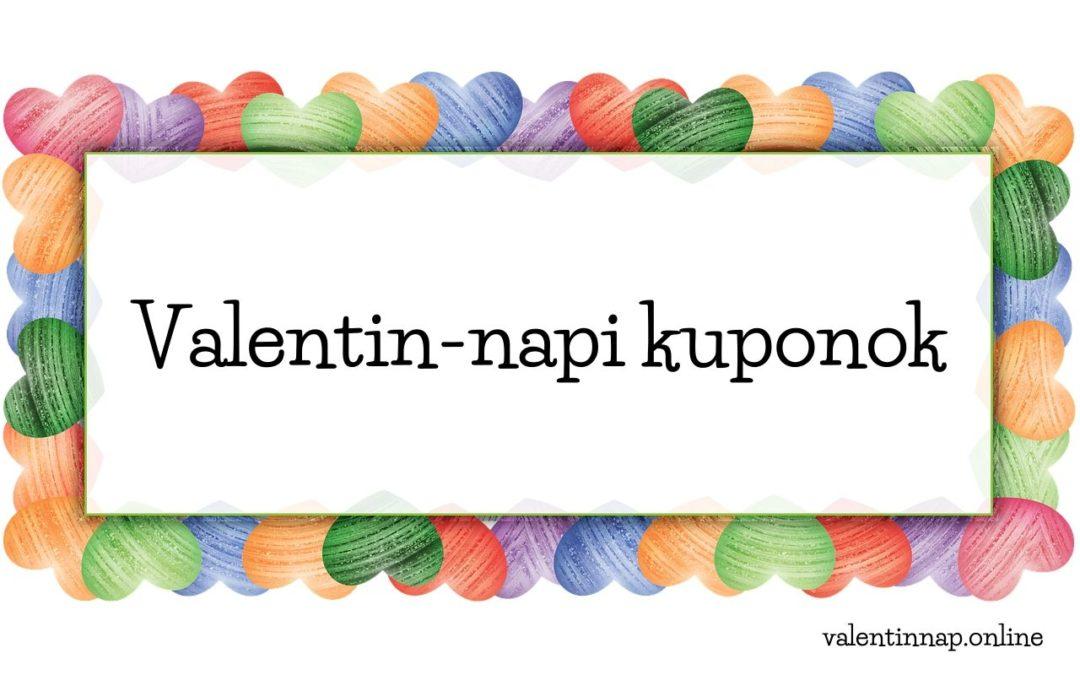 Valentin-napi kuponok