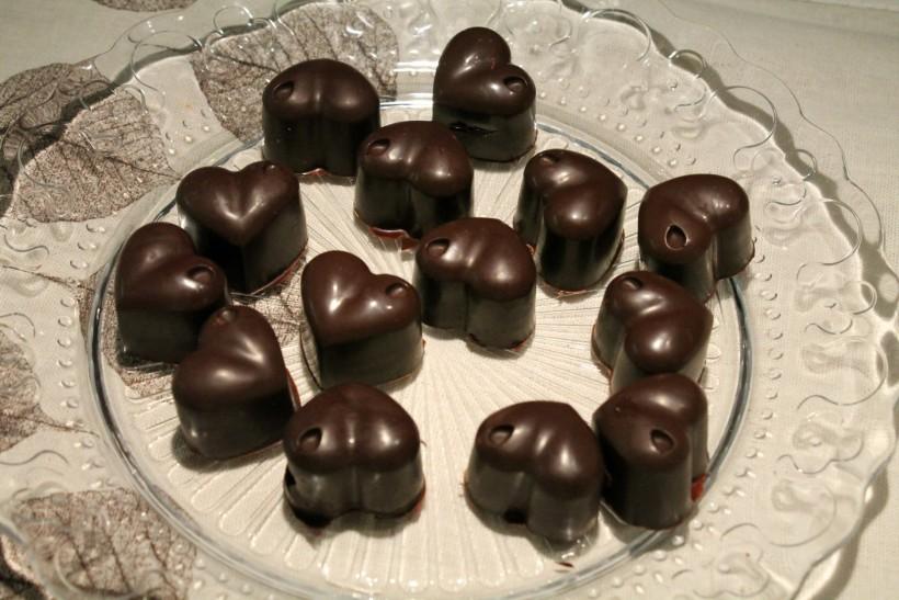 trüffelkrémes bonbon
