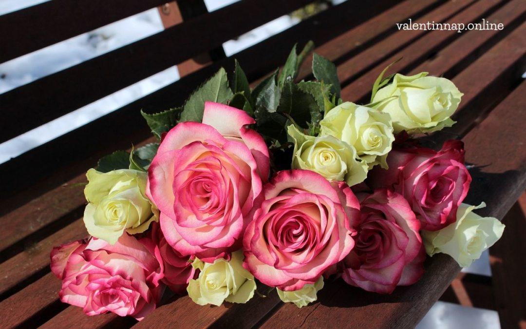 Valentin-nap, virág!