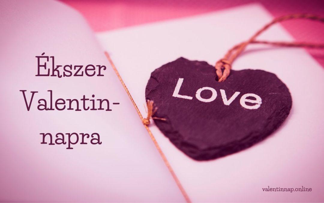 Ékszer Valentin-napra