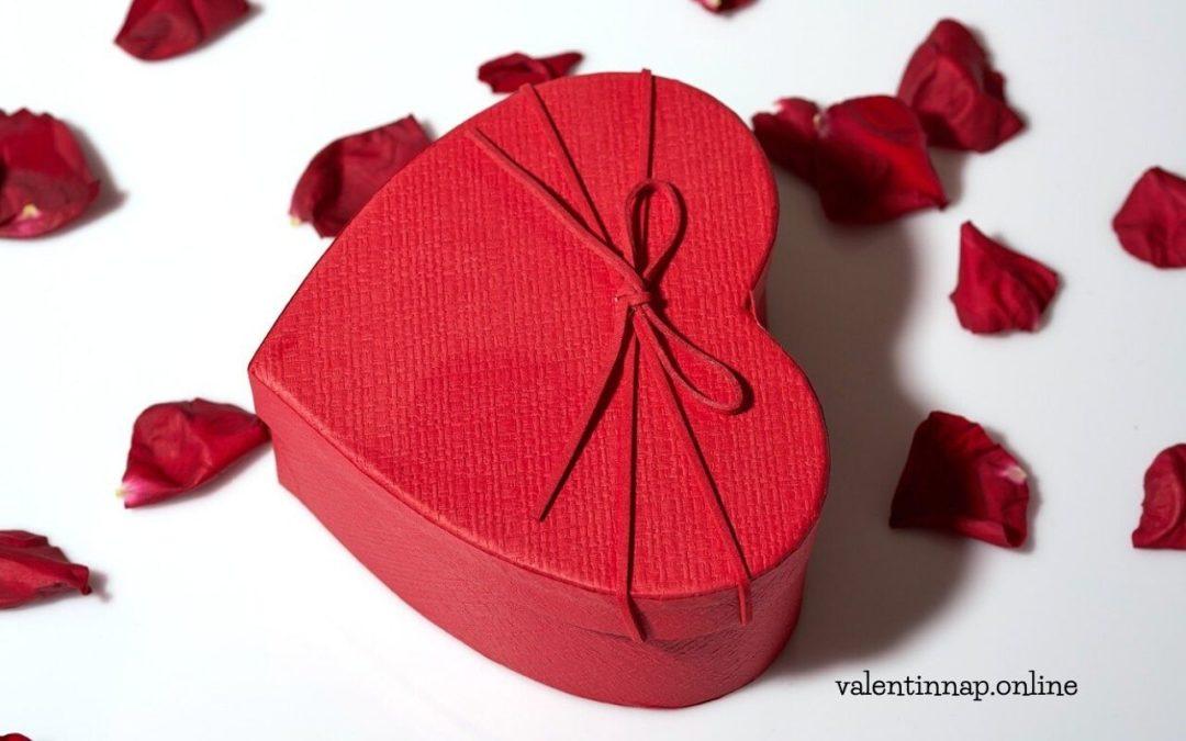 Valentin-napi doboz